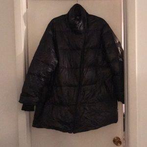 Jackets & Blazers - Black Puffer Coat.